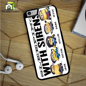 Sleeping With Sirens Minion iPhone 6S Case by Avallen