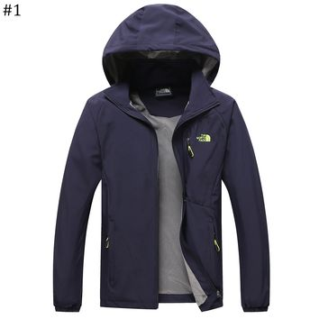The North Face Spring and Autumn Outdoor Thin Mountaineering Jacket #1