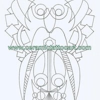 Neo Tribal Tattoo Flash Inspired Coloring Book Digital Downloads Available