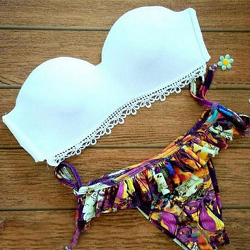 2016 Summer Push-up swimwear Set Beach Swimsuit Gift 92