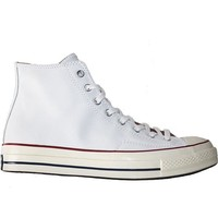 Converse All Star Chuck Taylor 70 Hi Opt - White/Egret Leather High Top Sneaker