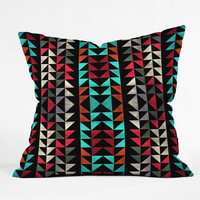 Caleb Troy Volted Triangles 02 Throw Pillow