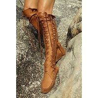On Sale Hot Deal Flat Boots [120847106073]