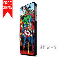 Marvel Heroes Comic Poster US iPhone 6 Case