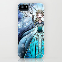 The Snow Queen iPhone & iPod Case by Mandie Manzano