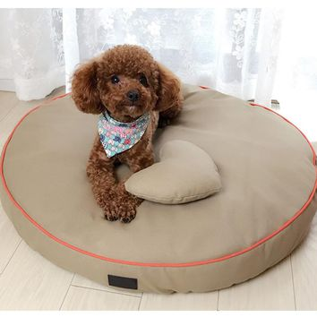 Kennel Pet Dogs Bed Mats Comfortable Waterproof Dog Large Mat Luxury Nest Blanket Pet Sofa Bed Camas Perrons Pet Supply 60Z21324