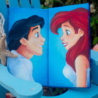 Ariel/Eric mini canvas set