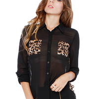 Papaya Clothing Online :: ESSENTIAL LEOPARD PRINT SHIRT