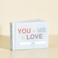 You + Me = Love | Mod Retro Vintage Books | ModCloth.com