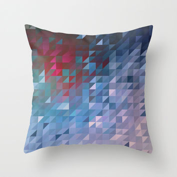 Shifted Throw Pillow by DuckyB (Brandi)