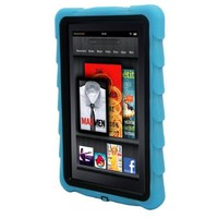 Gumdrop Cases Drop Tech Series Protective Case Cover for Kindle Fire, Blue - With Screen Protection (will not fit HD or HDX models)