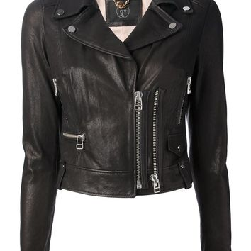 Sly 010 cropped biker jacket