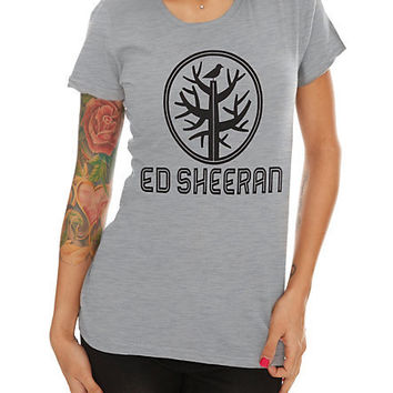 Ed Sheeran Tree Girls T-Shirt | Hot Topic
