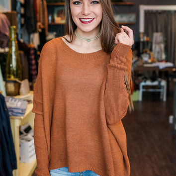 Replay Sweater - Rust