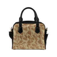 Desert Camouflage Pattern Shoulder Handbag (Model 1634) | ID: D379191