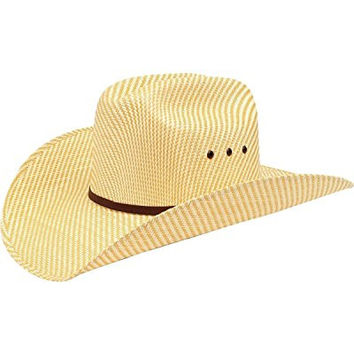 Ariat Boys' Double S Straw Cowboy Hat Natural Large