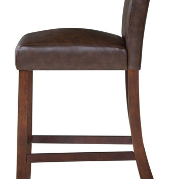 Tracy 30-inch Brown Barstool Set (Set of 2)