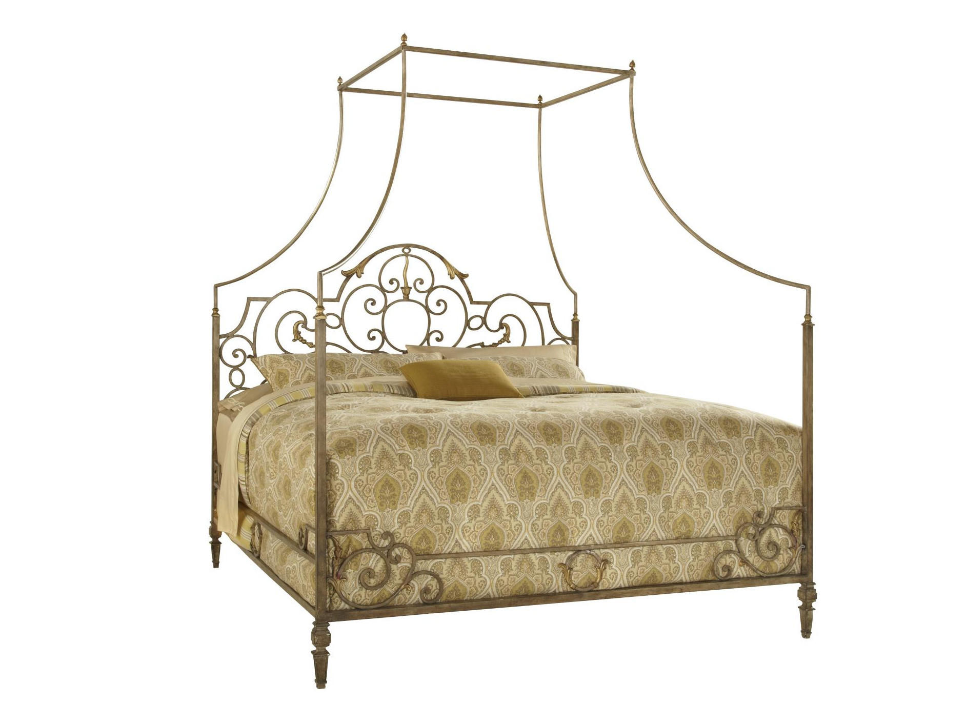 Biltmore King Metal Canopy Bed By Ffd From Knight Furniture