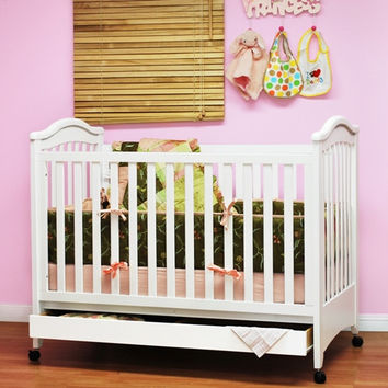 AFG Jeanie Convertible Crib w/ Drawer #611