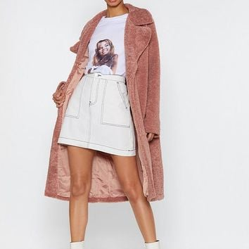 Fur-get Me Not Faux Fur Coat