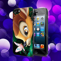 Bambi Disney Case For iPhone 5, 5S, 5C, 4, 4S and Samsung Galaxy S3, S4