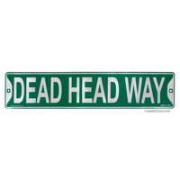 Grateful Dead - Dead Head Way Sign on Sale for $12.99 at HippieShop.com