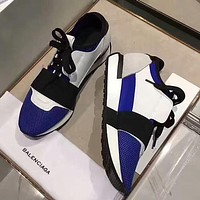 Balenciaga Woman Men Casual Flats Shoes Sneakers Sport Shoes