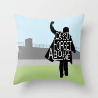 The Breakfast Club Throw Pillow by August Decorous