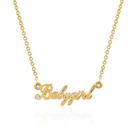 NEW! Babygirl Namesake Necklace