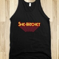 She-Ratchet Heroine Typography - Awesome fun #$!!*&