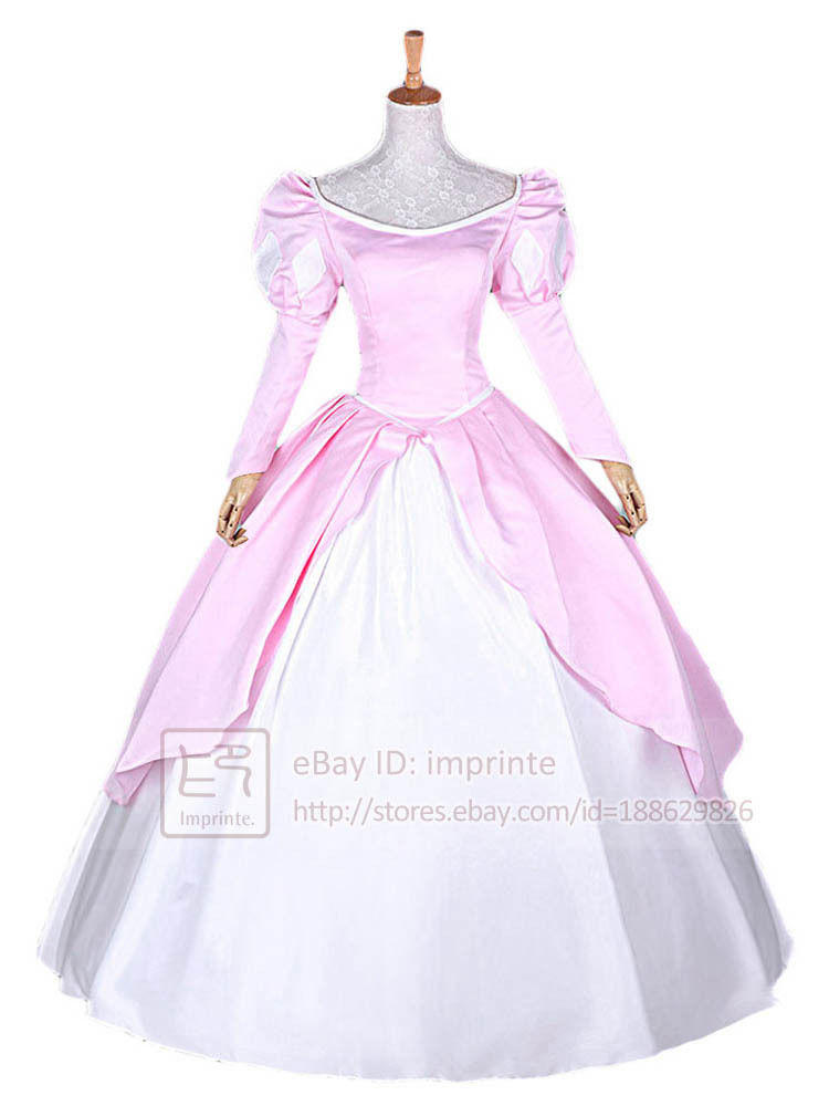 Ball Gown Adult Princess Ariel Dress From Imprinte On Ebay