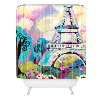 Natasha Wescoat Le Dame De Fer Shower Curtain