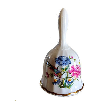 Spode England Bell, Spode Bird Bell, England Spode, Spode Bird, Collectible Spode, England China, Porcelain Bell, Collectible Bell, Easter