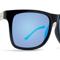 Dot Dash Admiral Sunglasses (Soft Charcoal Satin/Ice Blue Chrome) at 7TWENTY Boardshop, Inc