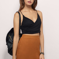 Drucilla Knitted Skater Skirt