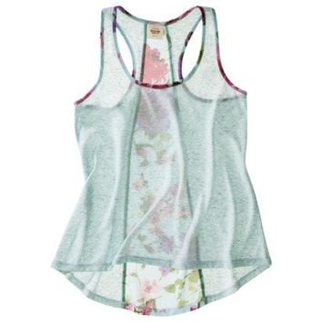Mossimo Supply Co. Juniors High Low Racerback Tank - Assorted Colors