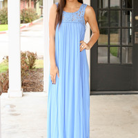 Goddess of the Ocean Maxi - Sky