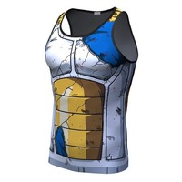 Battle worn saiyan armor tank top