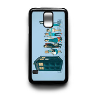 Harry Potter,Alice,Peterpan and Other Tardis Samsung Galaxy S3 S4 S5 Note 2 3 4 HTC One M7 M8 Case