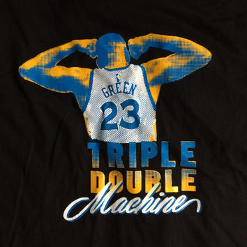 Golden State Warriors Draymond Green Triple Double Machine