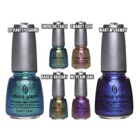 China Glaze Bohemian Collection 6pc. Set