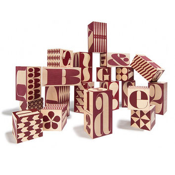 Big & Tall Alphabet Blocks