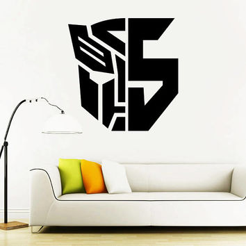 Transformers Wall Decal,Prime Wall Sticker,Bumblebee wall decal,Kids Wall sticker,Bedroom Wall Sticker,Nursery wall decal kau 260