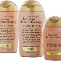 Ever Straight Brazilian Keratin Therapy 3 Pc Starter Kit