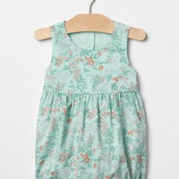 Floral bubble shortie one-piece | Gap
