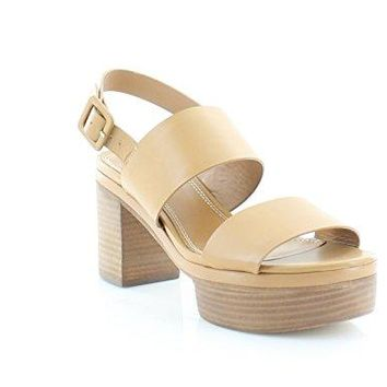 Tory Burch Solana 70 mm Women's Platform Sandal, Blonde, 10 B(M) US