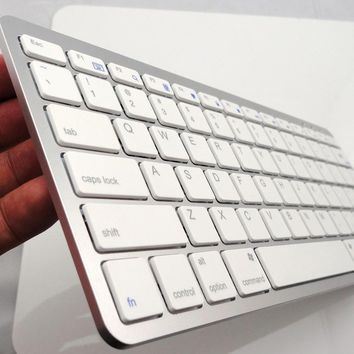 Rechargeable Bluetooth Wireless Keyboard for Mac book  iPad iPhone android 4.0  Windows tablet