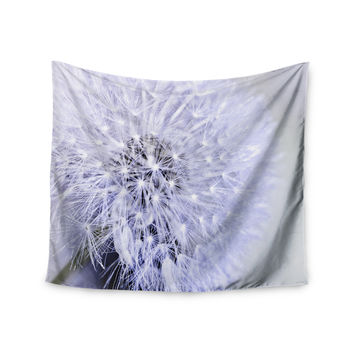 "Debbra Obertanec ""Lavender Wish"" Purple Flower Wall Tapestry"