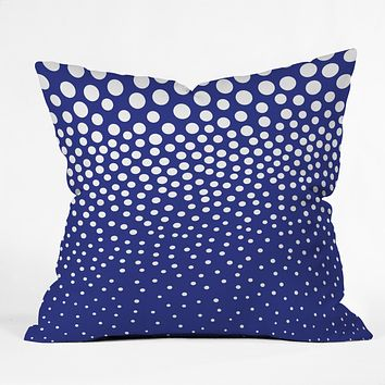 Elisabeth Fredriksson Blueberry Twist Throw Pillow