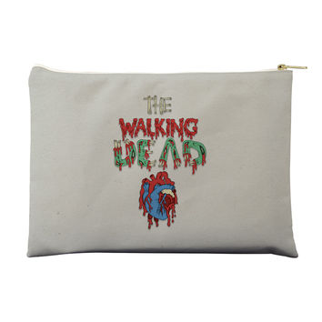 Walking Dead Heart Pouch